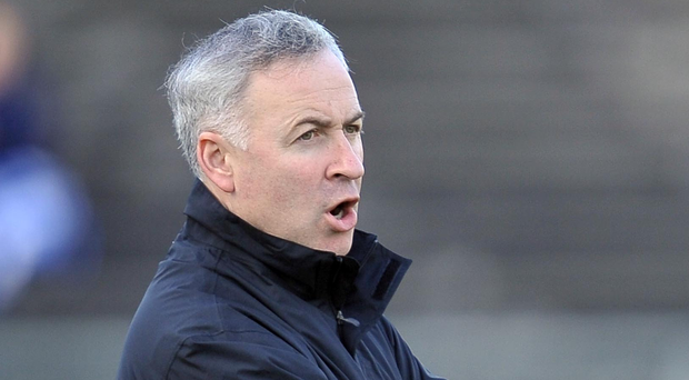 Ambitious plans: Antrim boss Lenny Harbinson is keen to see more pupils take up Gaelic games in the greater Belfast area