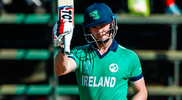 Shining example: Ireland captain William Porterfield weighed in with 11