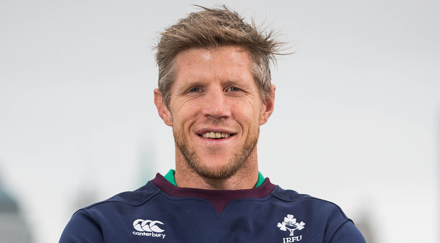 Ireland forwards coach Simon Easterby
