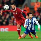 Hands on: Emre Can battles for possession
