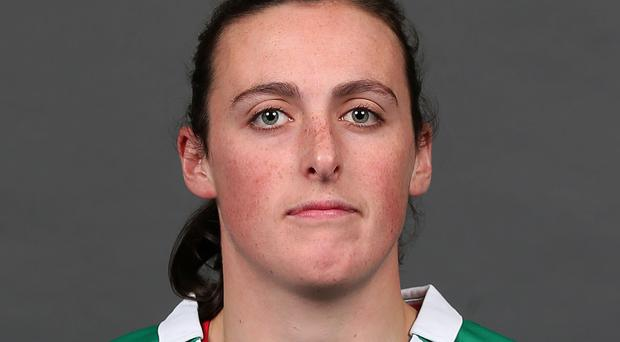 Impressed: Hannah Tyrrell did well as a sub against Wales