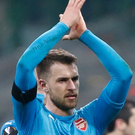 Goal hero: Aaron Ramsey last night