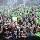 Thousands will enjoy an open air concert at Custom House Square in Belfast this St Patrick's Day. (Pacemaker)