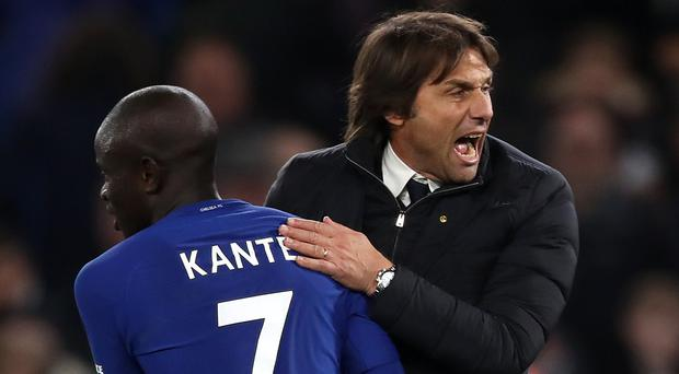 N'Golo Kante is available for Chelsea's Premier League clash with Crystal Palace on Saturday, head coach Antonio Conte says