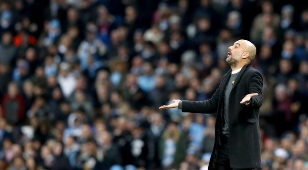 Pep Guardiola has been fined
