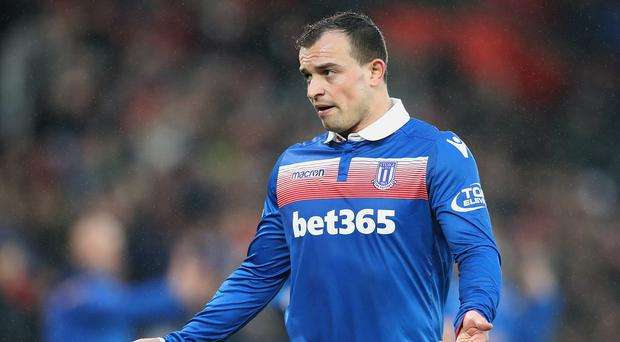 Xherdan Shaqiri is one of Stoke's stand-out performers under Paul Lambert