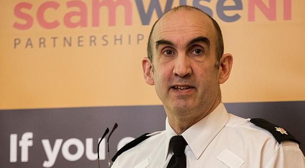 Superintendent Simon Walls, who is the PSNI's lead on crimes against the elderly, told the Belfast Telegraph that in terms of burglaries, the elderly are under-represented as victims (Liam McBurney/PA)