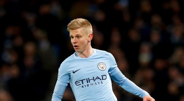 Oleksandr Zinchenko expects to learn lessons from Manchester City's loss to Basel