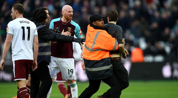 Events at the Premier League match between West Ham and Burnley are being investigated
