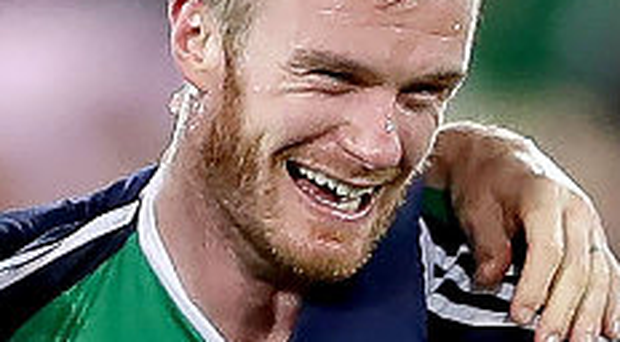 Time out: NI ace Chris Brunt is pondering his future
