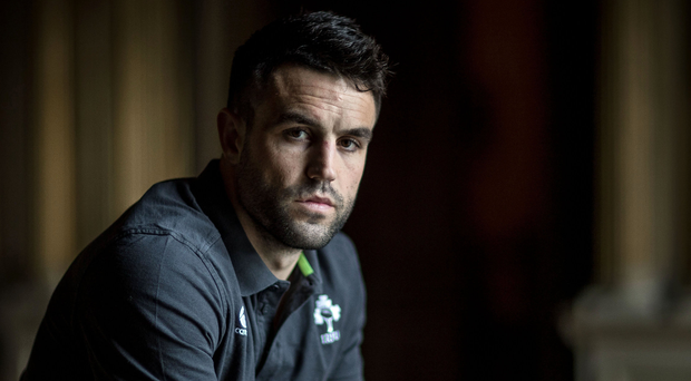 Driving factor: Conor Murray saw the haunted faces of England players when Ireland crushed their Grand Slam bid last year