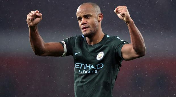 Vincent Kompany would relish winning the title against United