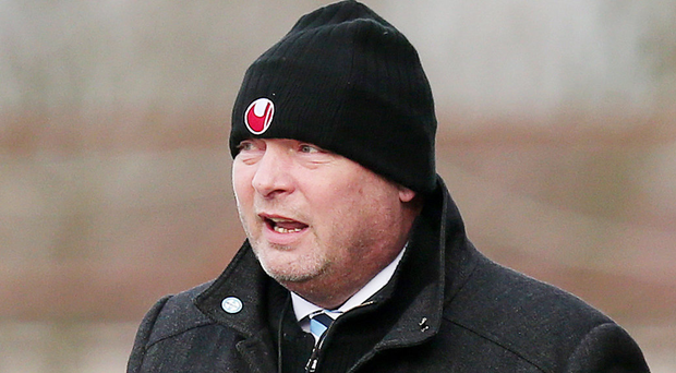 Hindrance: David Jeffrey is battling a crippling injury list