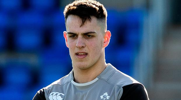 Big call: James Hume is one of six Ulster-based starters