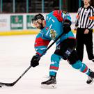 Hat-trick: Colin Shields hit a treble against the Flyers