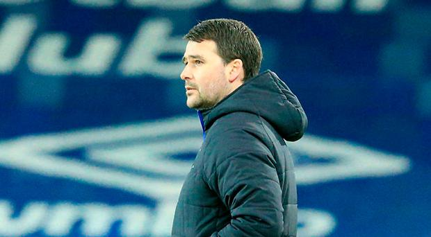 More misery: David Healy watches the Irish Cup fall out of Linfield's grasp