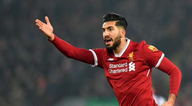 Bayern Munich are said to be interested in Liverpool's Emre Can (Anthony Devlin/PA)