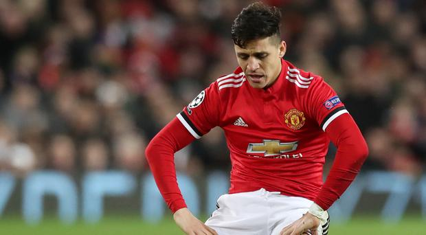 There has been frustration for Alexis Sanchez since he joined Manchester United