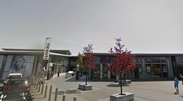 The Outlet shopping centre in Banbridge / Credit: Google Maps