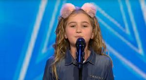 Pictured: Cora Harkin performs on Ireland's Got Talent (YouTube)