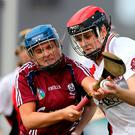Stuck in: Eilis Ni Chaiside is hoping to land back-to-back All-Ireland Club crowns as a tribute to her late father Thomas