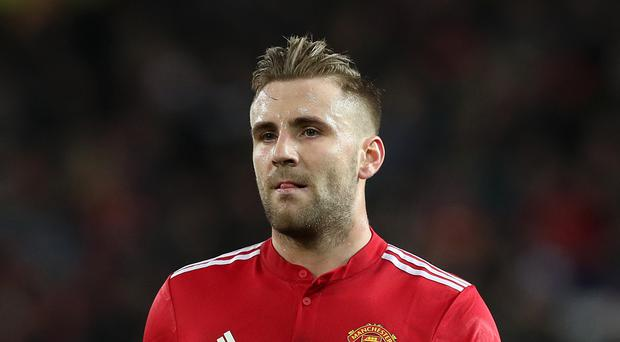 Luke Shaw's performance was criticised