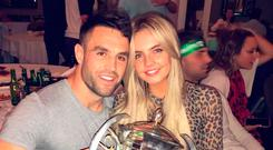 Irish rugby star Conor Murray has gone public with his Derry girlfriend Joanna Cooper after several months of dating
