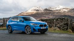 The new BMW X2 (BMW/PA)