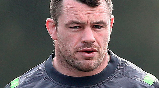 Top man: Cian Healy is the first choice loosehead for Ireland