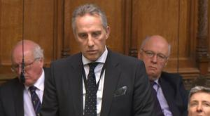 Ian Paisley was speaking in the House of Commons on Wednesday. Credit: Parliament.tv
