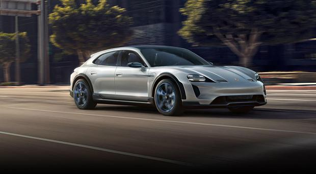 porsche electric. Porsche Mission E Cross Turismo Electric