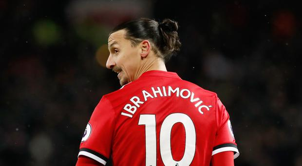 Image result for Ibrahimovic leaves Manchester United for LA Galaxy