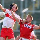 Driving force: Padraig Cassidy's pace and power can bolster Derry's attack in the vital clash with Sligo