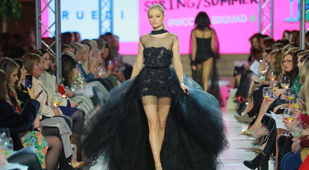 Belfast Fashion Week designer and boutiques show takes place on March 22nd 2018 at St Anne's Cathedral in Belfast (Photo by Kevin Scott / Belfast Telegraph)
