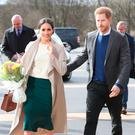 Prince Harry and Meghan Markle arrive in Northern Ireland. Photo credit: Brian Lawless/PA Wire
