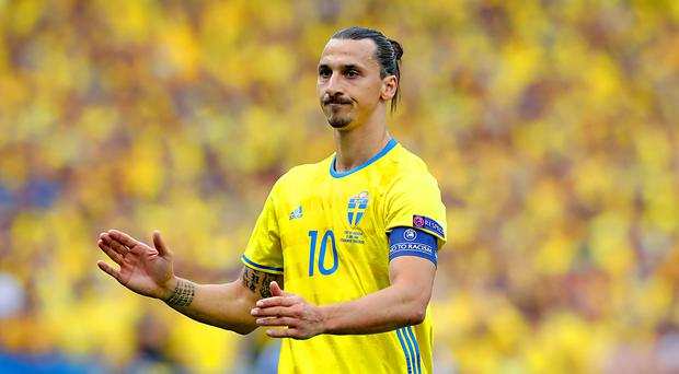 Zlatan Ibrahimovic has left the door open for a return to international football at the World Cup (Martin Rickett/EMPICS Sport)