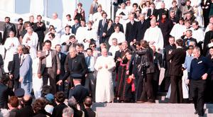 Historic trip: Pope John Paul II during his visit to the Republic of Ireland in 1979