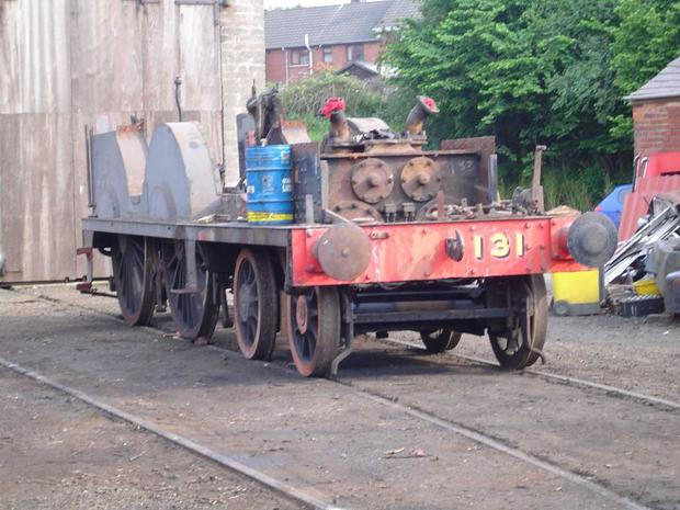 The train was restored by the Railway Preservation Society of Ireland (RSPI) at Whitehead.