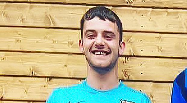 Ryan McManus who died following a road traffic accident in Crumlin.