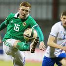 Northern Ireland U21s' Shayne Lavery.