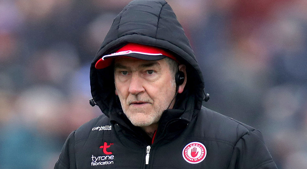 Big plans: Boss Mickey Harte will take Tyrone to Carton House for training in early May