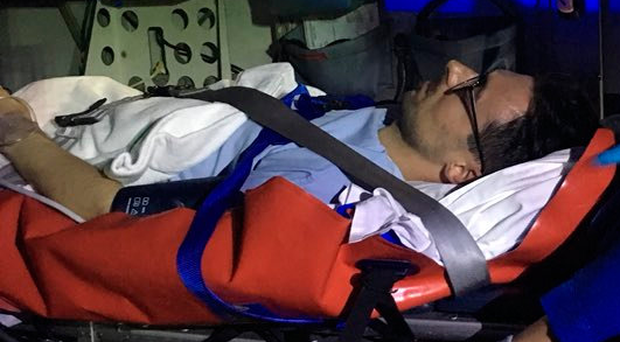 Airborne: Eugene Laverty on way to hospital in Bangkok