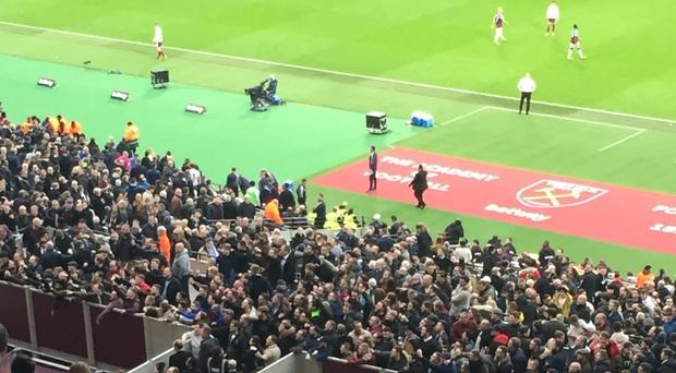 West Ham United Crowd Trouble
