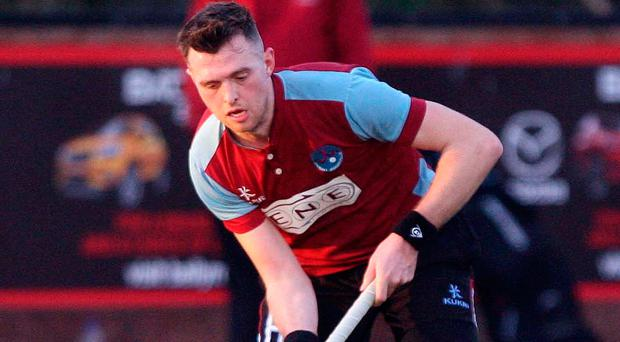 Decision time: Kilkeel skipper Mark Stevenson has led his side to success