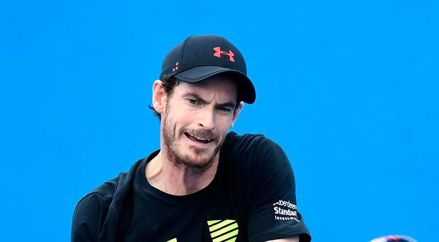 Battling back: Andy Murray