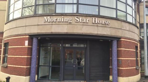 Morning Star House hostel in Belfast