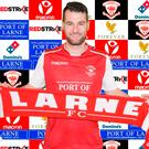 Relishing it: Thomas Stewart is ready to make noise at Larne
