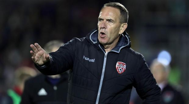 Clear message: Kenny Shiels wants to maintain momentum
