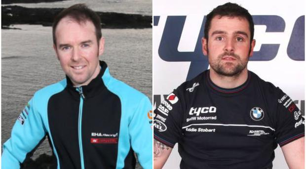 Alastair Seeley (left) and Michael Dunlop (right) will be team-mates at Tyco BMW this season.