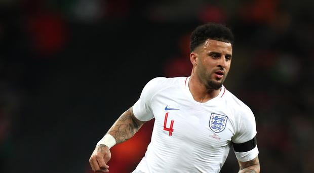 Kyle Walker impressed for England in a more central role